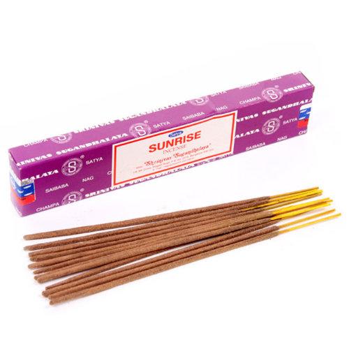 Satya Nag Champa Incense Sticks - Sunrise - Set of 12