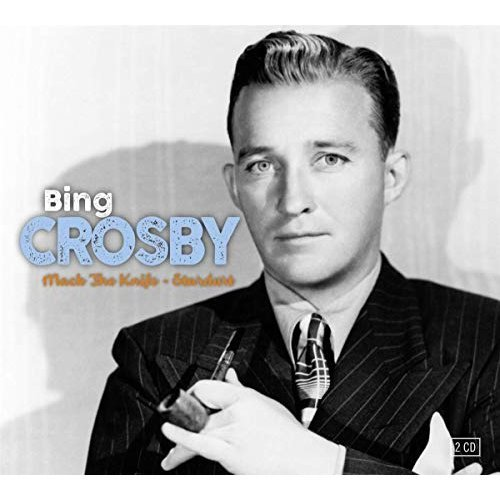 BING CROSBY - MACK THE KNIFE and STARDUST [CD]