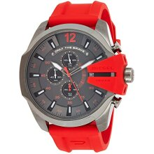 Diesel Mega Chief Men's Watch Chronograph DZ4427,New with Tags