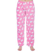 Childrens Soft Fleece Unicorn Lounge Pants