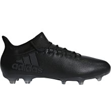 adidas Performance Mens X 17.2 Firm Ground Football Training Boots - Black