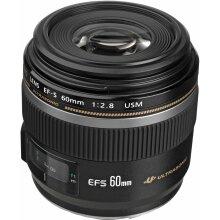 Canon EF-S 60mm f/2.8 Macro USM Lens - Used