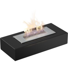 Freestanding biofireplaces INDIA MINI black with TÜV certified