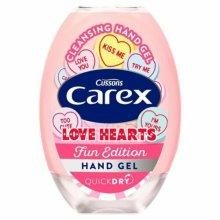 CAREX LOVE HEARTS FUN EDITION HAND GEL, 50ml