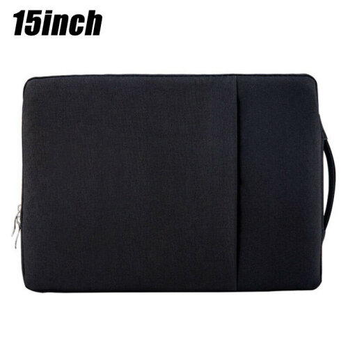 "(Black(15 inch)) Sleeve Case Pouch Bags Carrying Hand Bag For 11"" 13"" 15"" Tablet Laptop Notebook"