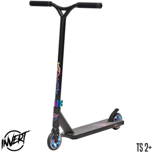 Ammaco Invert V2-TS2+ Hydro Teens Stunt Scooter Black/Neo Chrome T-Bar