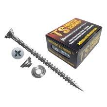 Twister Wood Screws Patented screw design Self Drilling/Countersinking