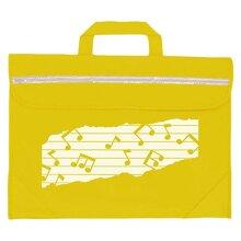 Mapac Duo Music Motif Bag - Yellow