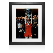 Framed Phil Thompson Signed Photo - Liverpool European Cup Winners 1981