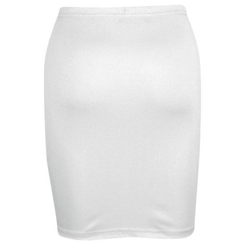 Gilrs Skirt Kids Plain Color School Fashion Dance Pencil Skirts Age 7-13 Years