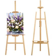 Studio Easel Wooden Art Craft Display Exhibition Wedding Drawing Painting Holder