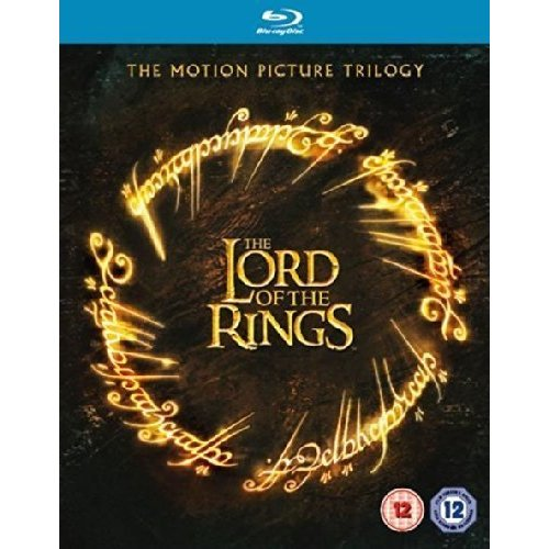 The Lord of the Rings Motion Picture Trilogy Theatrical Version 3 Disc Blu-ray [DVD]