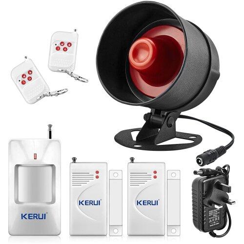 Standalone Home Shop Security Alarm Garage Alarm Shed Alarm System Kit