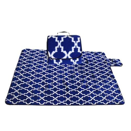 Outdoor Portable Foldable Beach Mat Moisture-proof Waterproof Picnic Cloth Floor Mat Climbing Mat Camping Mat-3 130x170cm