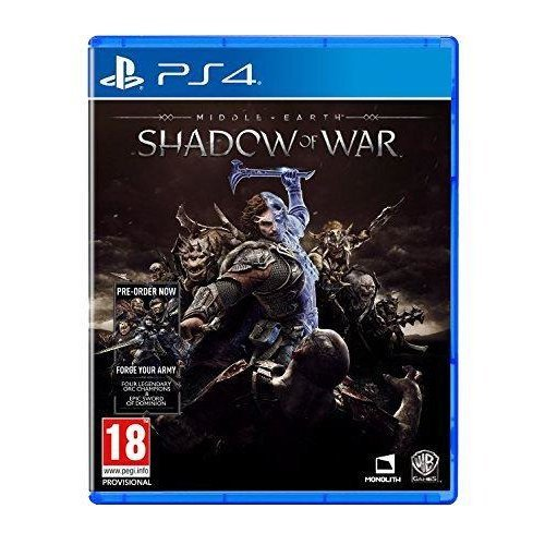 Middle Earth Shadow of War Standard Edition PS4
