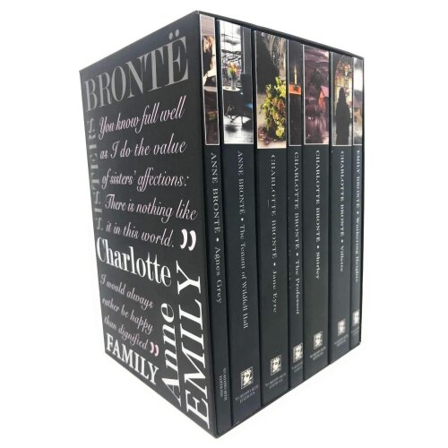 The Complete Novels Of Brontë Sisters 7 Books Box Set Collection, Agnes Grey