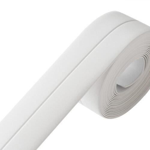 Caulk Strip PVC Self Adhesive Waterproof Tape,Caulking Sealing Tape for Kitchen Sink Toilet Bathroom Shower and Bathtub