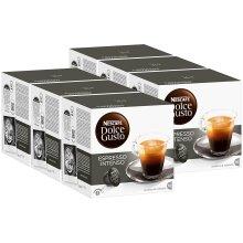 Nescafé Dolce Gusto Espresso Intenso, Pack of 6, 6 x 16 Capsules