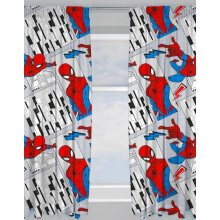 """Marvel Spider-Man Flight Ready Made and to Hang Curtains 66"""" x 54"""""""