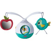 Tiny Love Tummy Time Mobile Entertainer, Toy with Music and Lights, Suitable from Birth, 0M +, Meadow Days - Used