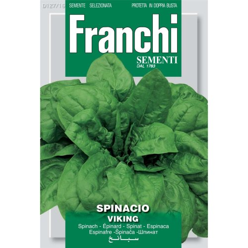 Franchi Seeds of Italy - DBO 127/16 - Spinach - Viking - Seeds