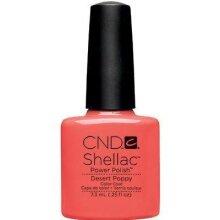 CND - Shellac Desert Poppy (0.25 oz)