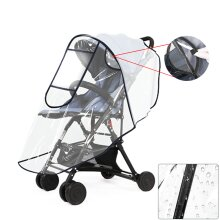 Universal Buggy Pushchair Cover Stroller Pram Buggy Clear Raincover