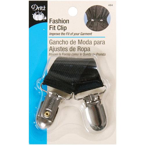 Dritz Fashion Fit Clip-Black