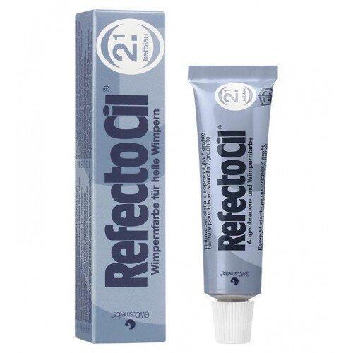 (Reflectocil - 2.1 DARK BLUE) Refectocil Eyelash and Eyebrow Tint