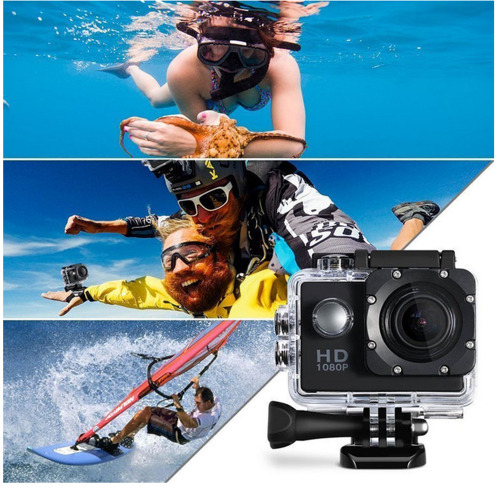 (Silver ) Underwater Sports Camera