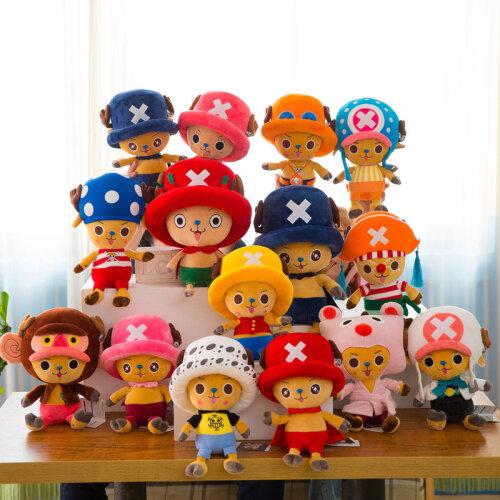 One Piece Plush Toy Luffy Doll Choba Birthday Gift