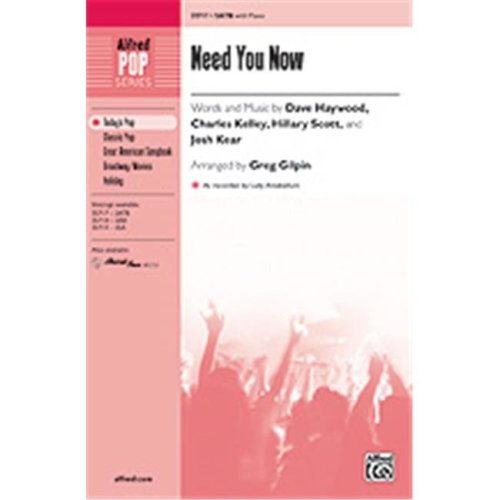 Alfred 00-35720 NEED YOU NOW-STRX CD
