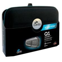 Cardo Q1 Teamset Bluetooth Motorcycle Intercom System