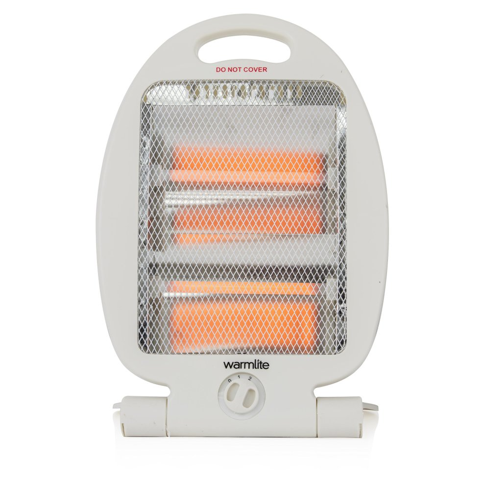 Warmlite Folding Quartz Heater, 2 Heat