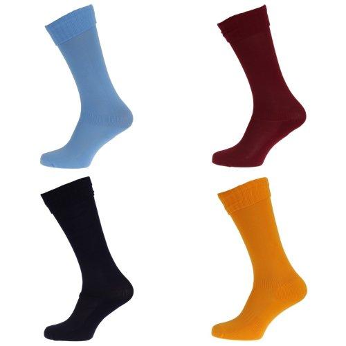 Apto Childrens/Kids Plain Football Socks