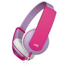 JVC HAKD5Z Tiny Phones Kids Stereo Children's Headphone - Lilac
