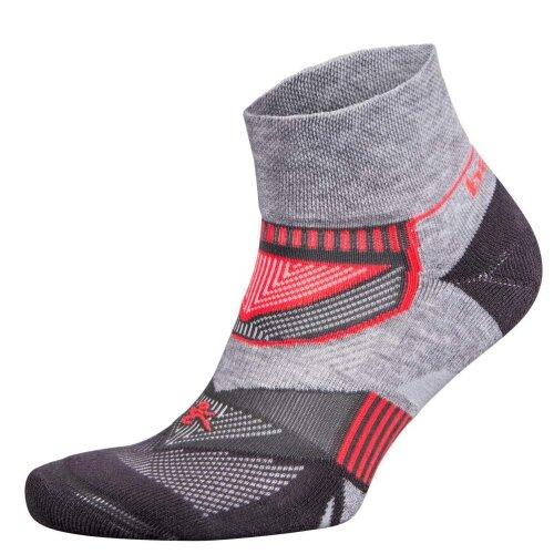Balega Enduro Quarter Running Socks, Grey