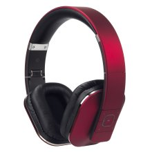 August EP650 Bluetooth Wireless Headphones - Custom Sound Control with Android/iOS App and Bluetooth v4.2, NFC and aptX LL Low Latency - [Red]