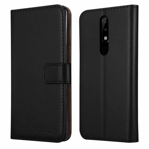 For Nokia 3.1 Plus Wallet Book Leather Case Cover
