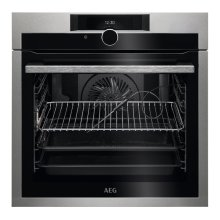 AEG SenseCook BPE842720M Electric Oven - Stainless Steel, Stainless Steel