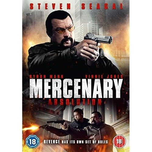 Mercenary - Absolution DVD [2015]