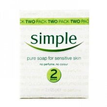 Simple Soap 125gm (Pack of 12) [Misc]
