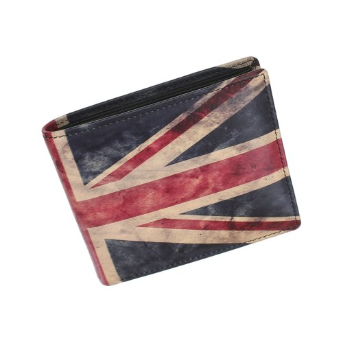 (Union Jack) Kalmin Printed Leather Wallet with RFID Protection 196_4 Camper