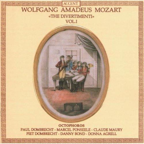 MOZART - DIVERTIMENTI VOL.1 [CD]
