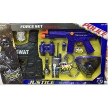 Police Force Set Power Gun