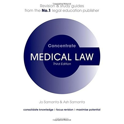 Medical Law Concentrate: Law Revision and Study Guide