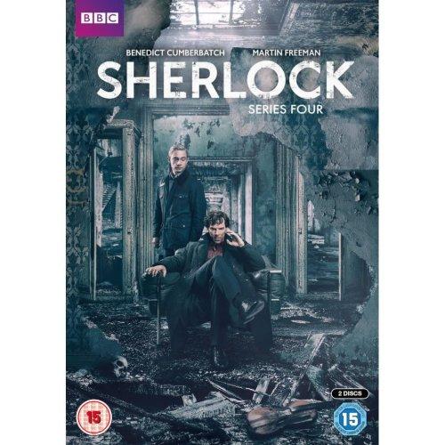 Sherlock (BBC) Series 4 DVD [2017]