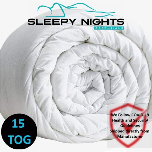 Hot Winter Warm Duvet 15 Tog Non Allergenic Hollowfibre Corovin Quilt