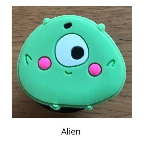 (Alien) mobile phone holder Socket Finger grip Stand UK