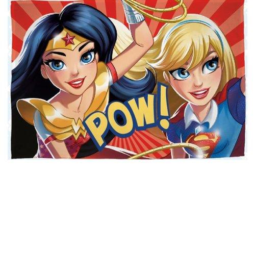 DC Comics Superhero Girls Fleece Blanket - Super